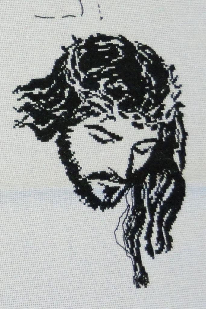 Вышивка находится также в галереях: под вышивку и вышивка крестом