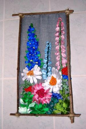 плетение атласными лентами плетение.