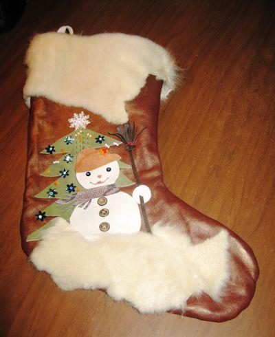 Рождественский сапожок