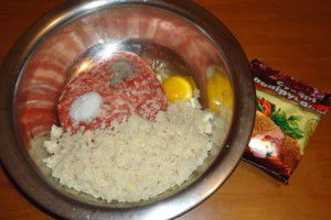 Рецепт домашних котлет из свино-говяжьего фарша