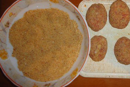 рецепт говяжьих котлет с рисом и