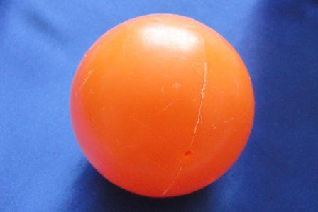 Пластиковый мячик