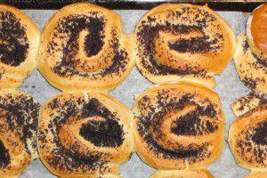Фото-рецепт булочек с маком