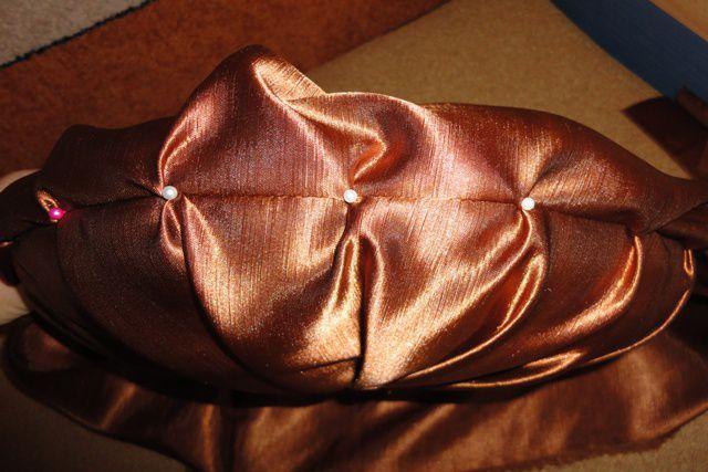 Декоративная подушка мастер класс