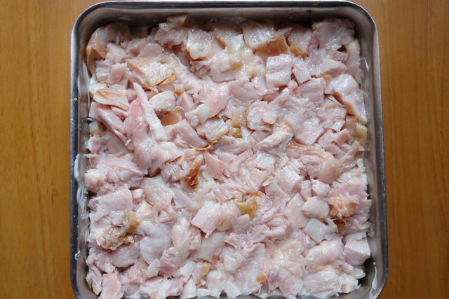 Салаты слоями рецепты с копченой курицей