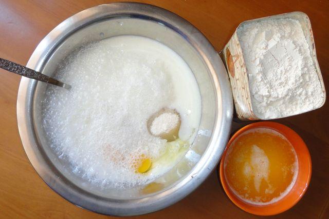 Ингредиенты для кексов в формочках
