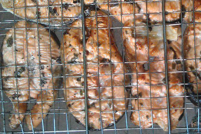 Как приготовить семгу на гриле