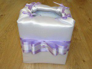 Коробка своими руками на свадьбу