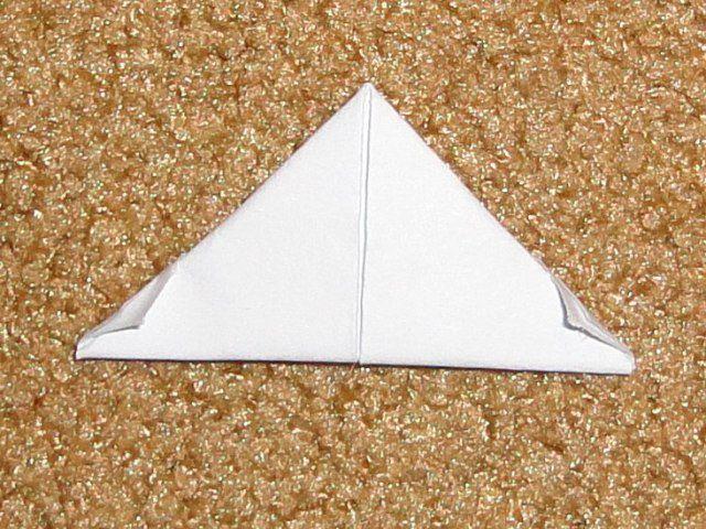 Уголки с другой стороны модуля оригами