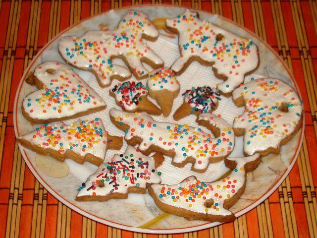 Рождественские печенья своими руками