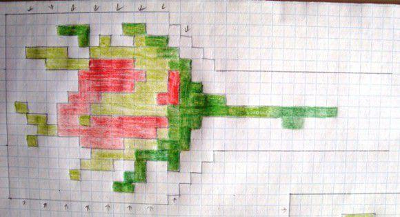Бутон розы схема. гердан роза своими руками (2) .