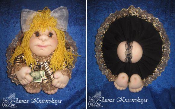 Кукла на удачу от Жанны Красовской
