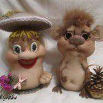 Текстильные игрушки своими руками