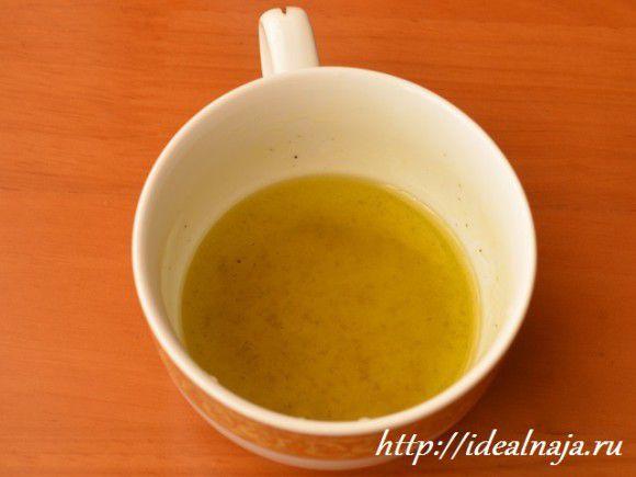 Соус для греческого салата.