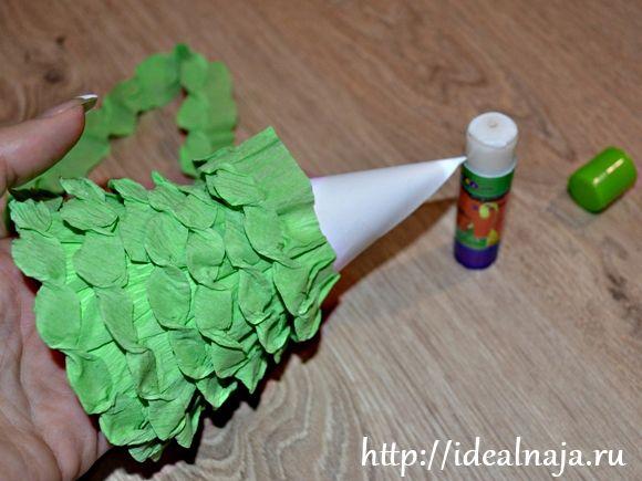 Оригами елка из бумаги своими руками