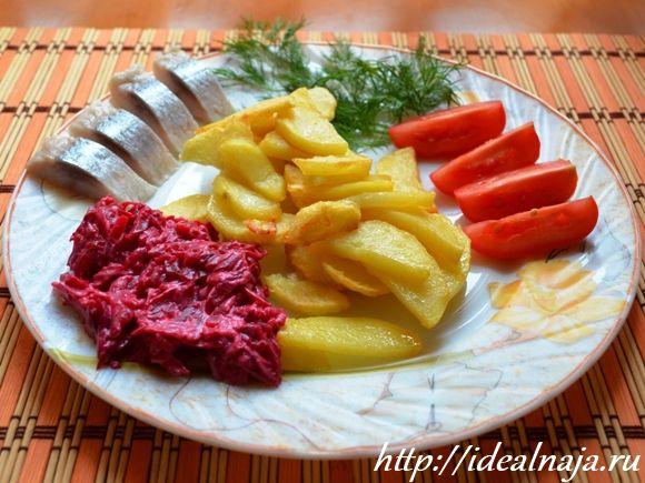 Жареная картошка с хрустящей корочкой