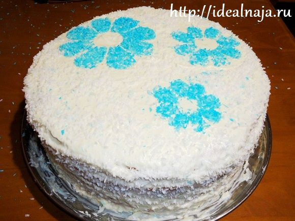 Бисквитный торт Мечта Рафаэля