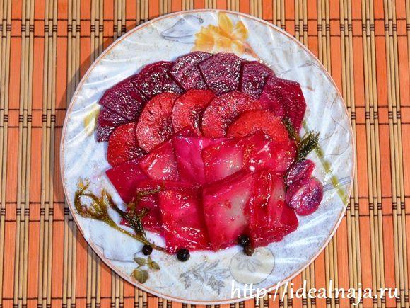 Маринование овощей по-корейски