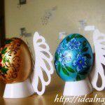 Роспись пасхальных яиц вручную