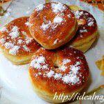 Пончики на плавленном сырке