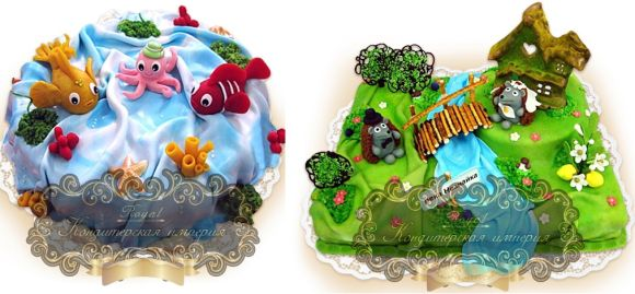 Примеры детских тортиков