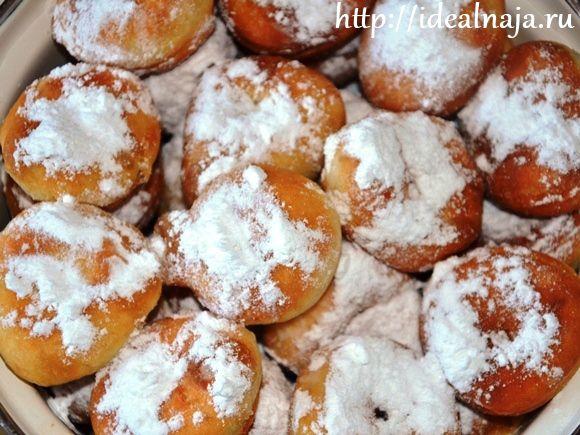 Простые и вкусные пончики на кефире