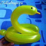 Утка из длинного воздушного шарика