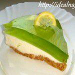 Торт Творожный с желе и без выпечки