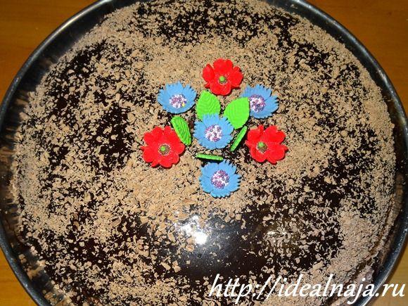 Украшение торта Праги в Настёнкином исполнении :-)