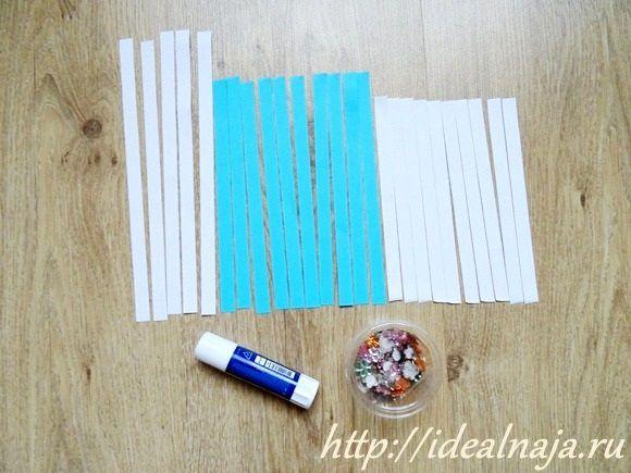 Готовим бумажные полоски