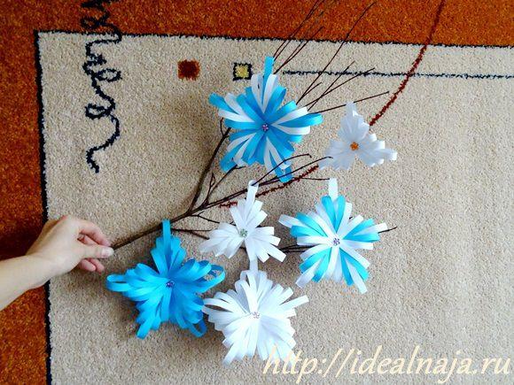 Снежинки своими руками из бумаги мастер класс