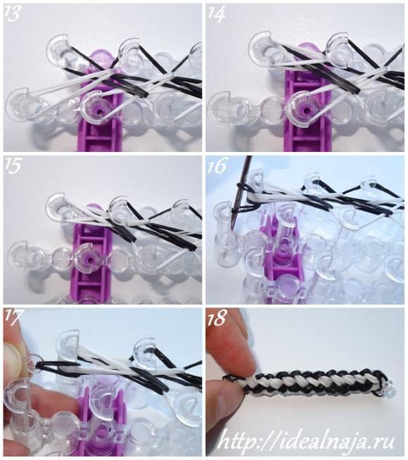 Как сделать браслет Инь-Ян ч.3