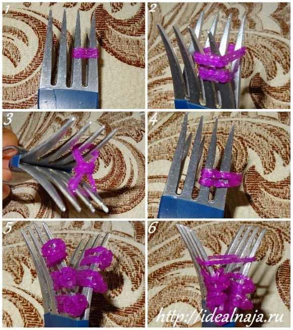 Как сделать браслет Цветы ч. 1