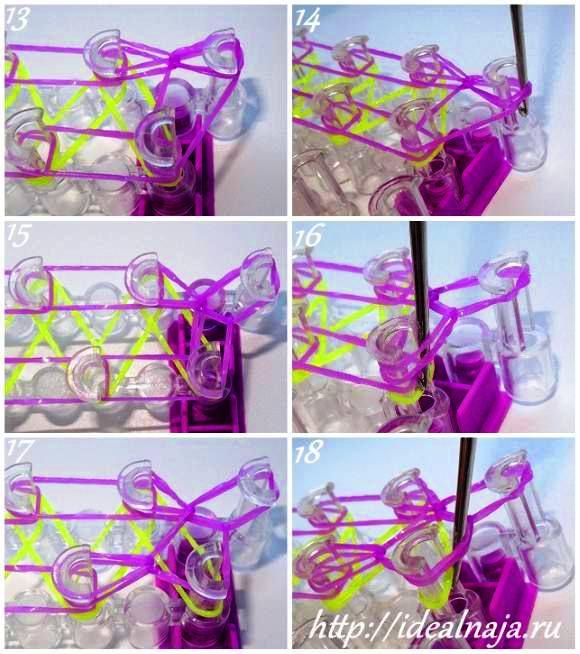 Как сделать браслет шнурки ч.3