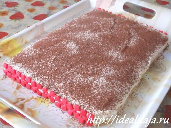 Торт Тирамису по домашнему рецепту