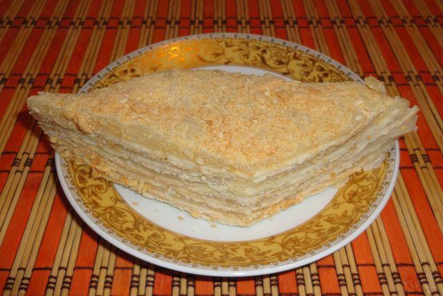 рецепт тора на сковородке медовик