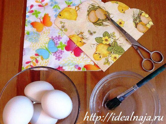 Как сделать сахарные пасхальные яйца 3