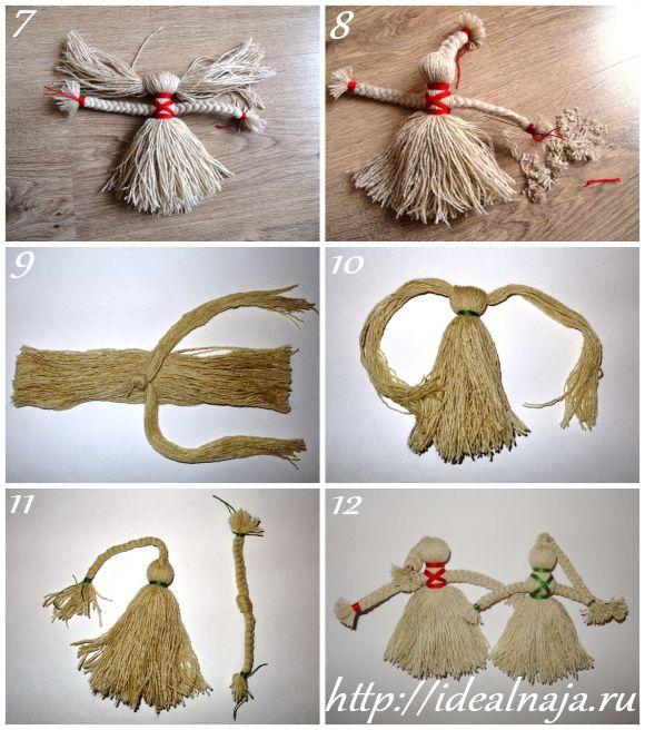 Как сделать своими руками куклу на удачу